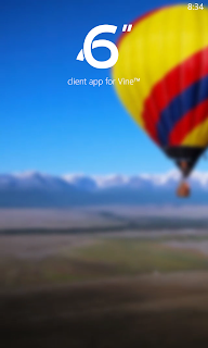 6Sec Vine Client on Nokia Lumia 521