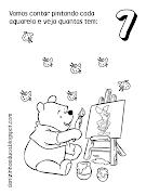 numeros do pooh 1 ao 10