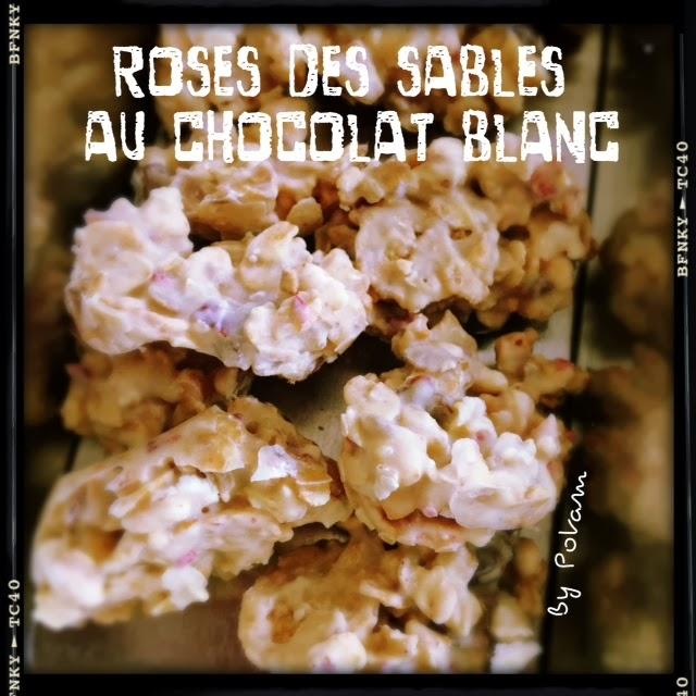 roses des sables au chocolat blanc blogs de cuisine. Black Bedroom Furniture Sets. Home Design Ideas
