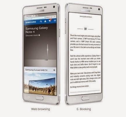 Layar Galaxy Note 4