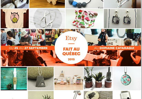 Etsy Fait au Québec 2015 Domaine Cataraqui