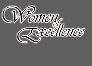 Women of Excellence Floral Logo Design