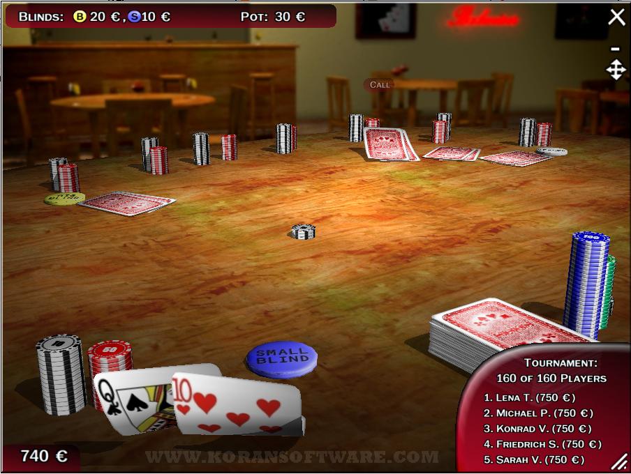 Download texas hold'em poker 3d
