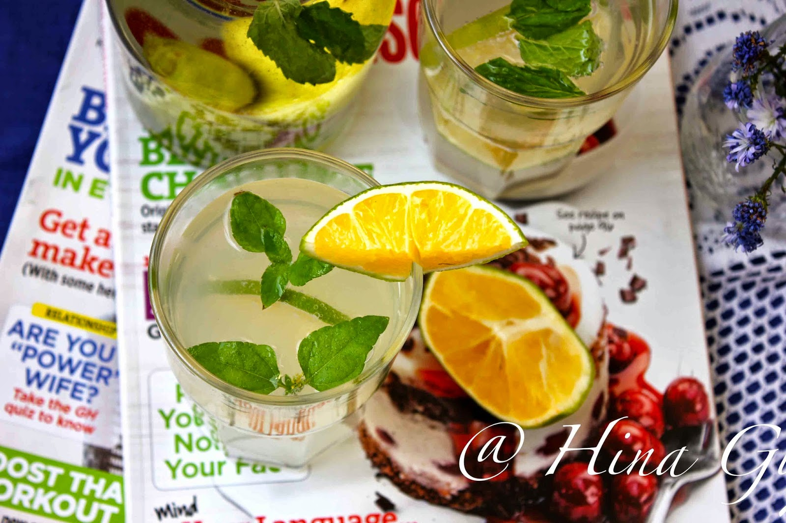 Lime and Mint Virgin Mojito Recipe