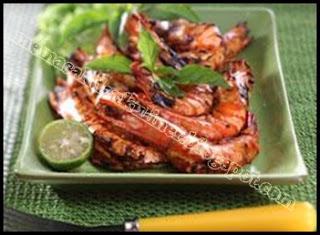 Resep Masakan | Udang Bakar Paprika