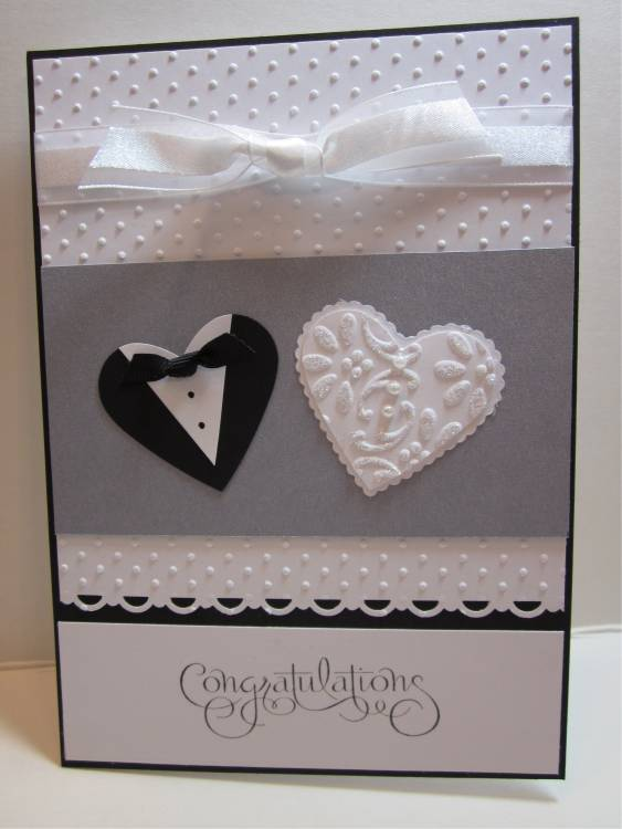 Addicted To Cardmaking Wedding Card