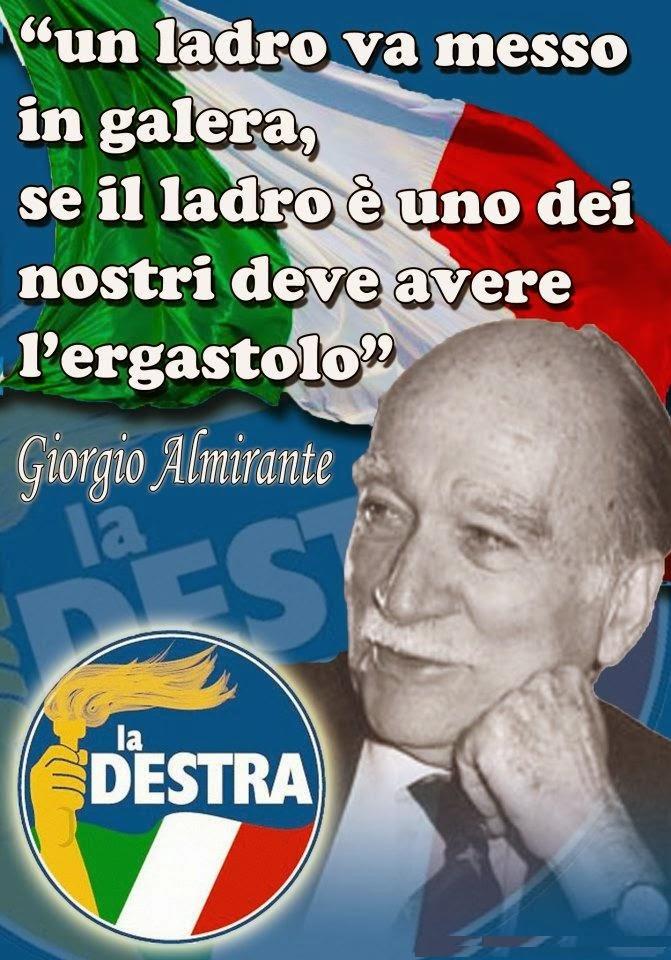 Giorgio Almirante PER SEMPRE