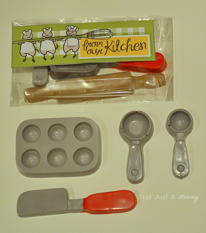 Little Chef Cooking Party candy favors