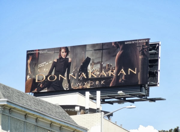 Donna Karan New York FW 2013 billboard