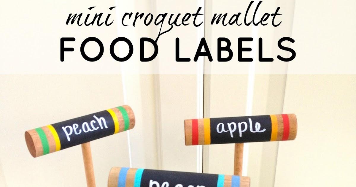 Croquet food