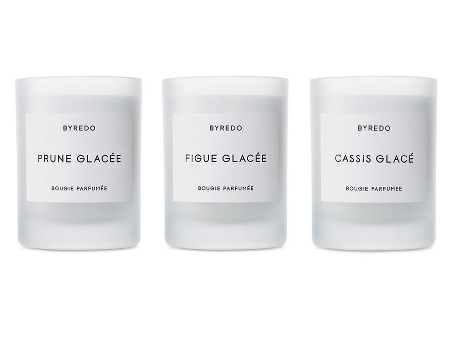 Brown Glass Byredo Candles