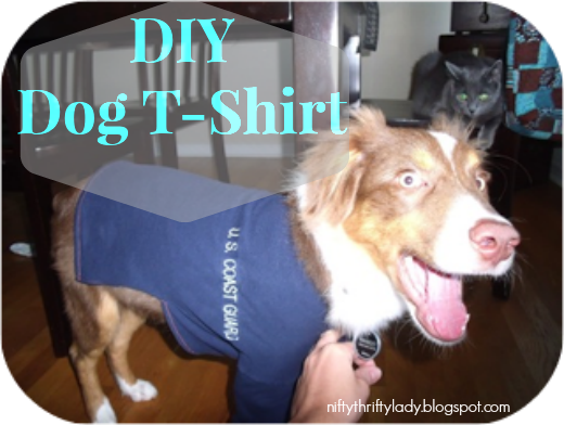 How to Make an Upcycled Dog T-Shirt
