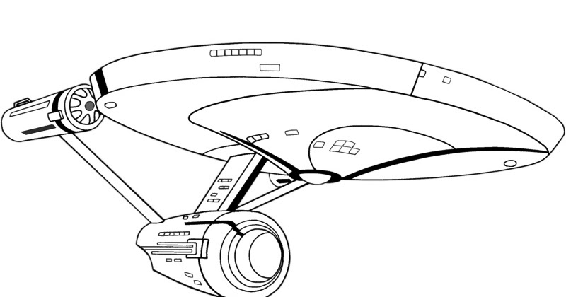 Free Coloring Pages Startrek Animated Printable Coloring Pictures