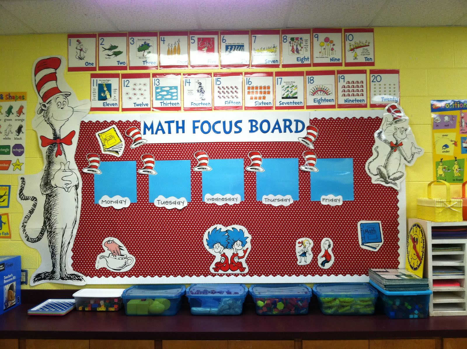 Math+classroom+decoration+ideas