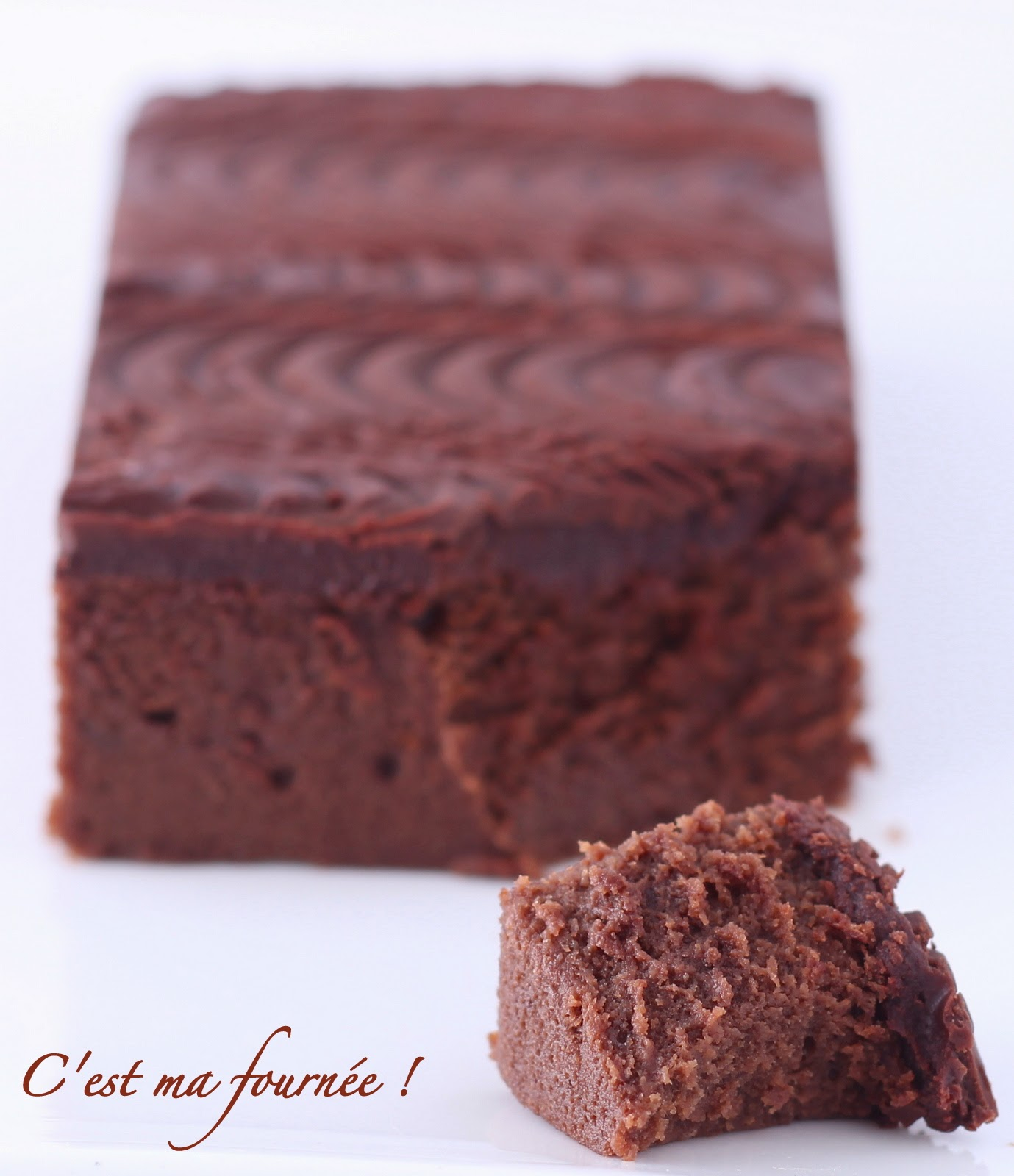 Temperature four gateau au chocolat