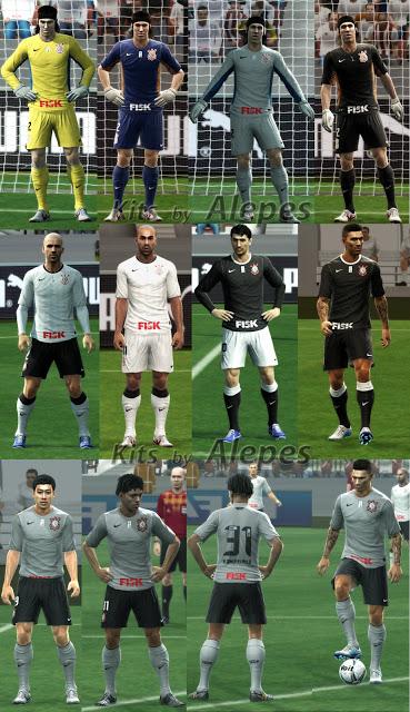 Corinthians 2012/13 Kitset - PES 2013