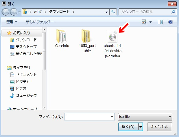 Как сделать загрузочную флешку windows 7 в ubuntu 1404