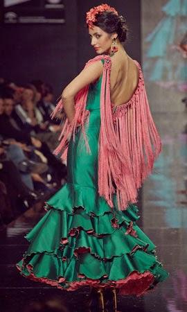 trajes de flamenca 2014 Lina