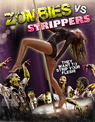 zombies vs strippers poster