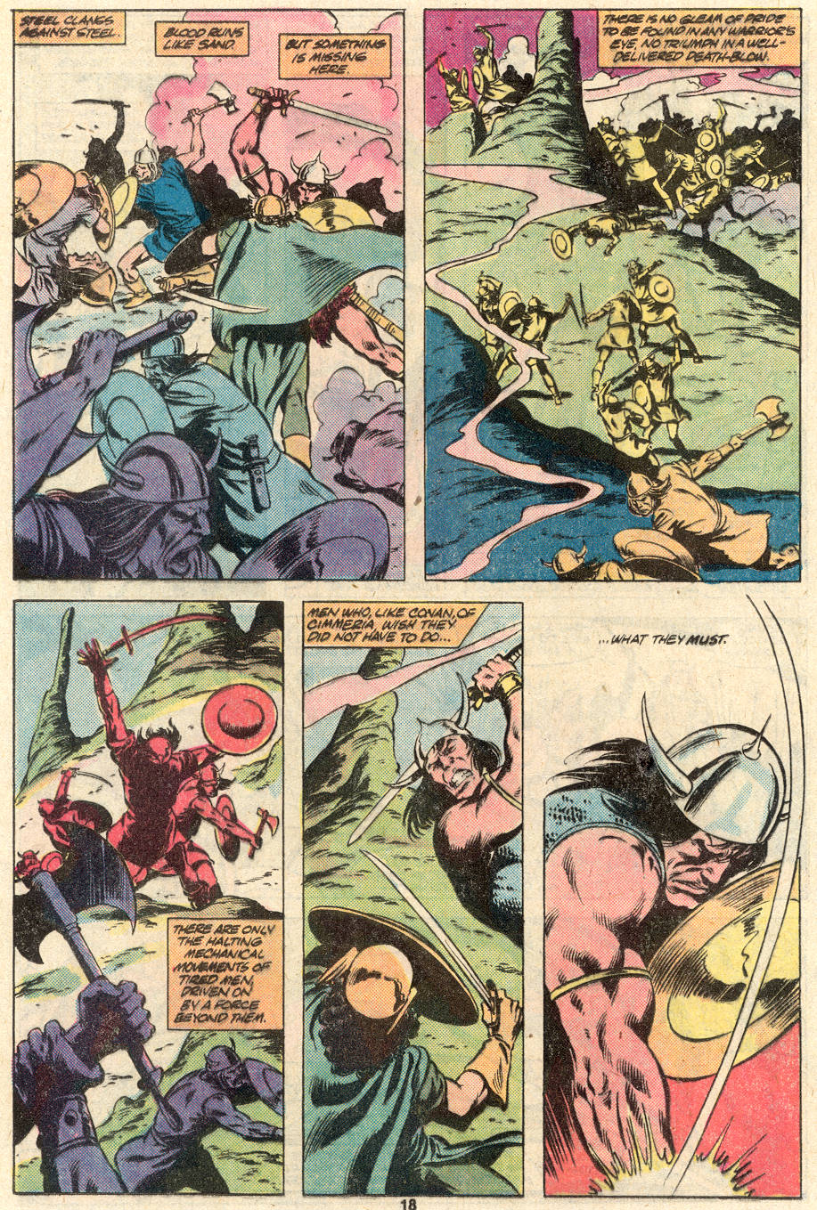 Conan the Barbarian (1970) Issue #124 #136 - English 15