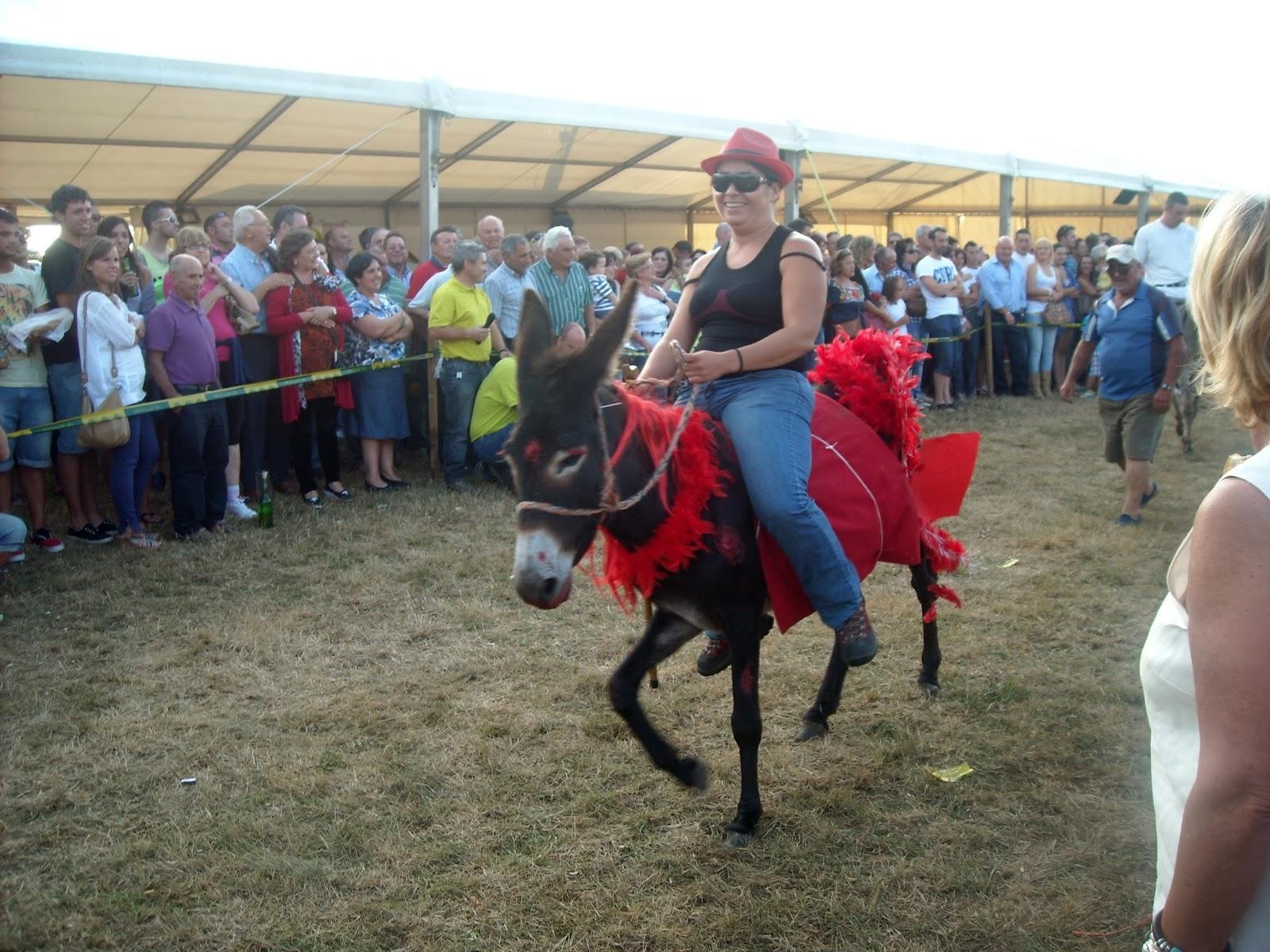 fiesta prao pañeda 2013 asturias carrera burros