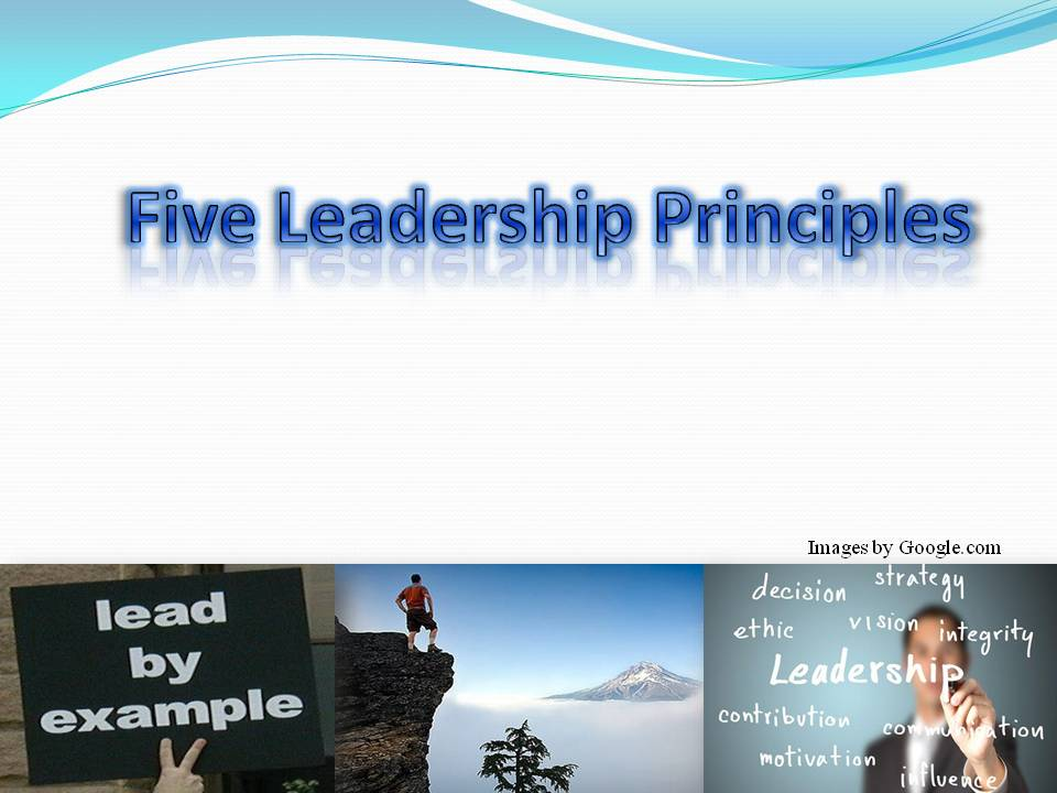 five principles of visionary leadership