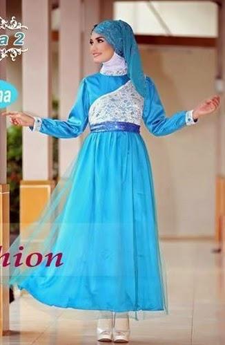 20 Contoh Model Baju Pesta Muslim Modern Remaja Terbaik