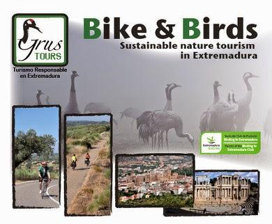 BIRDWATCHING Y CICLOTURISMO GRUS TOURS