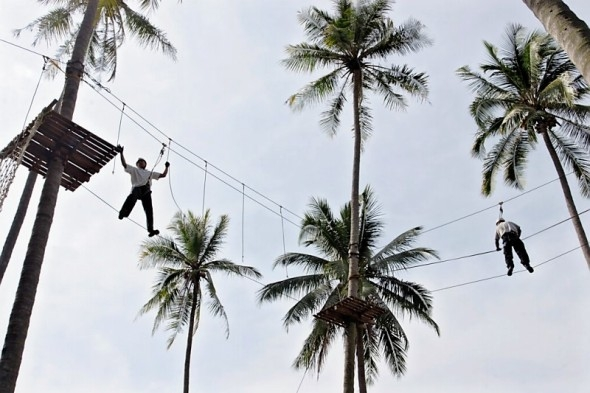 Outbound training in Hawaii Anyer Resort & Spa