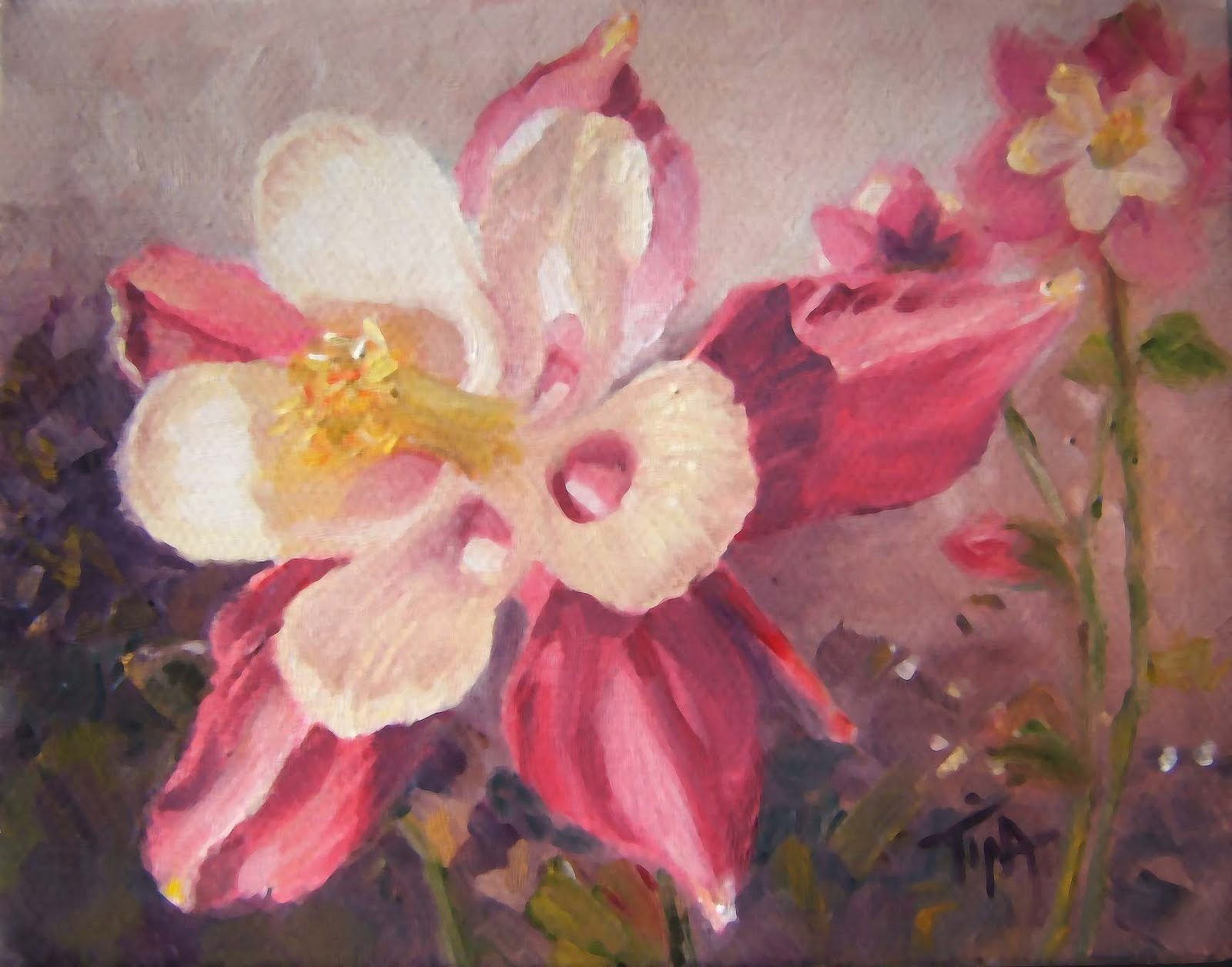 "4""x 5"" oil on canvas, c. 2010 TMW"