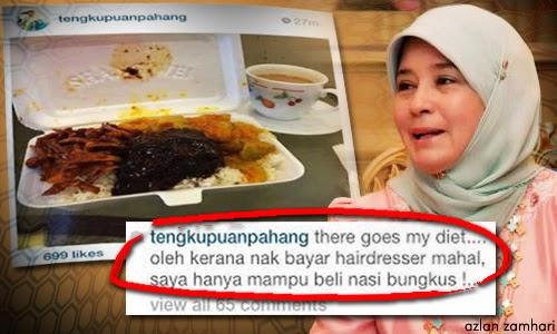 Akaun Tunku Puan Pahang Di Tutup Lepas Sindir Rosmah