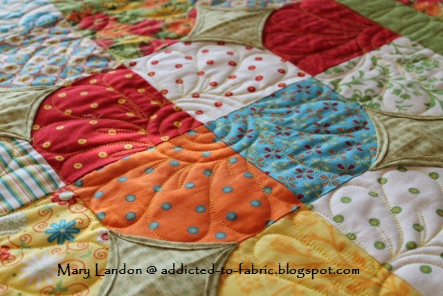 Addicted to Fabric: 10-Minute Block Quilt : what is quilting - Adamdwight.com