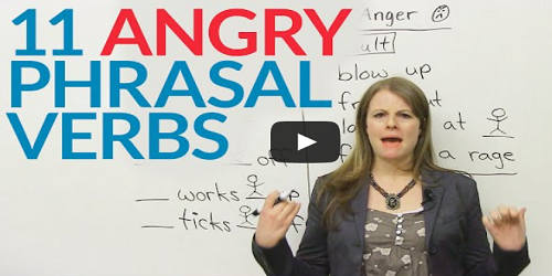 phrasal verbs video tutorial