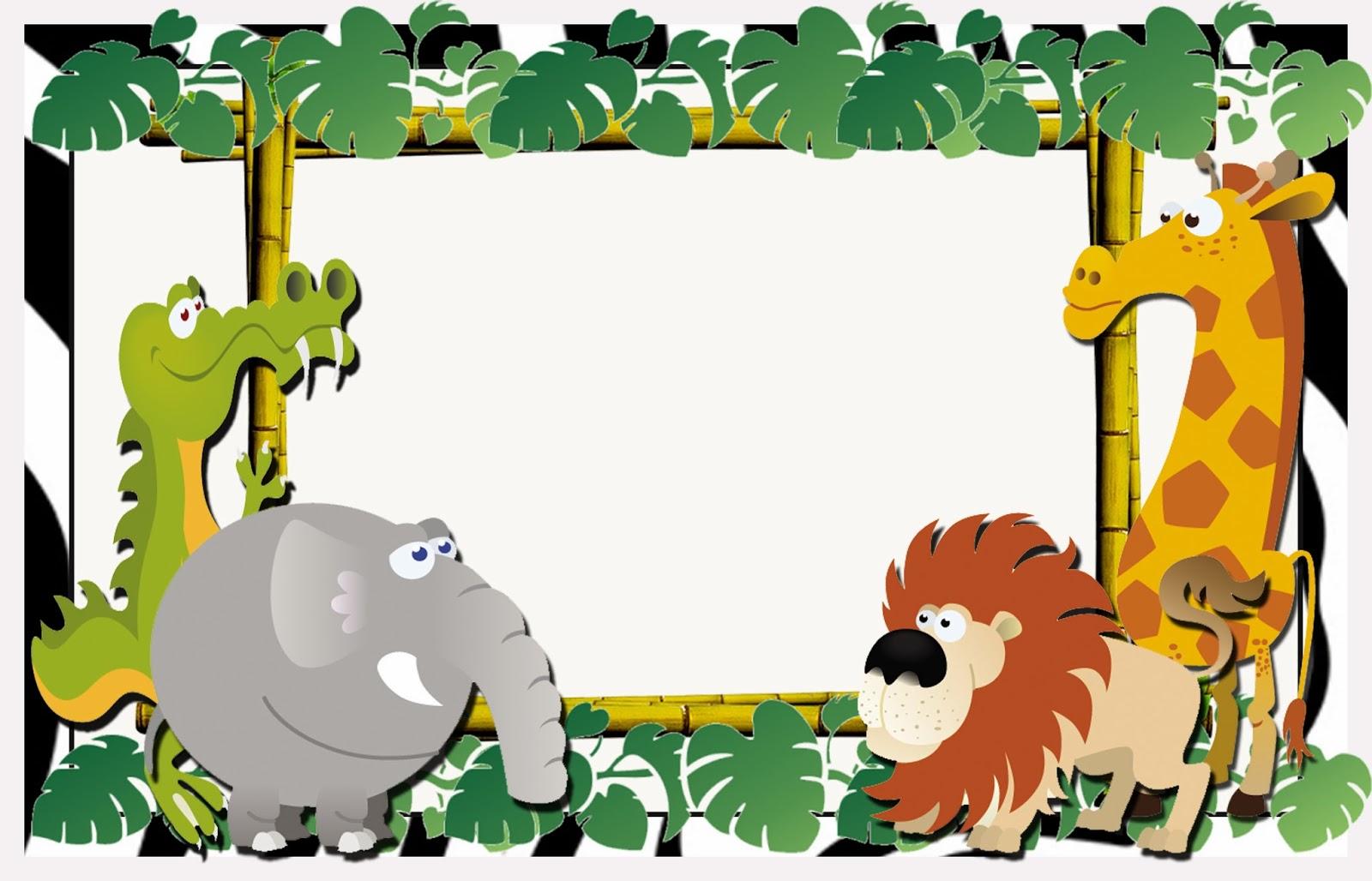 Invitaciones Safari Para Imprimir | apexwallpapers.com