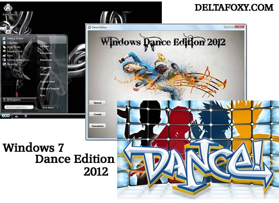 Windows 7 Dance Edition
