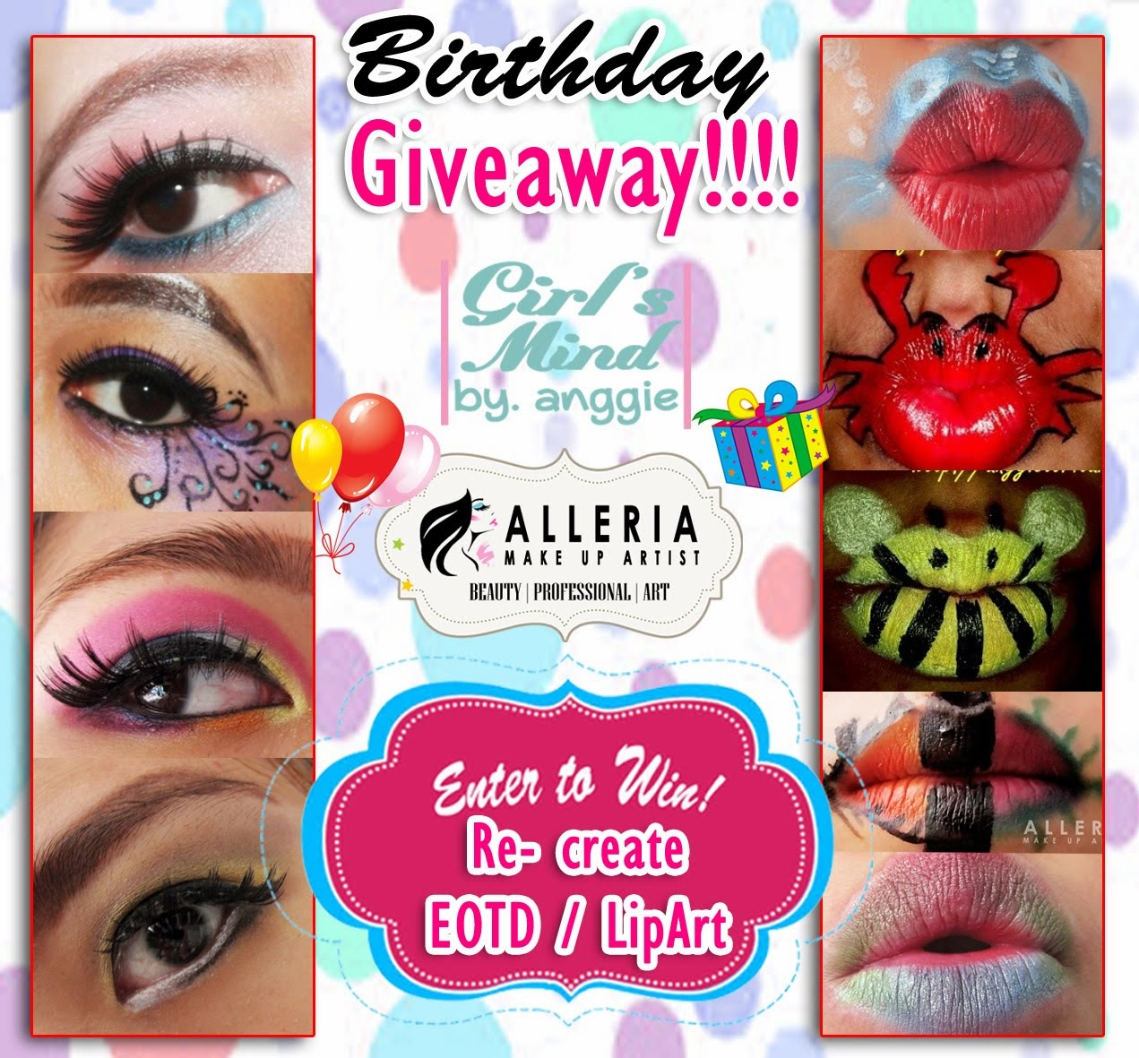 My 1st Birthday Giveaway