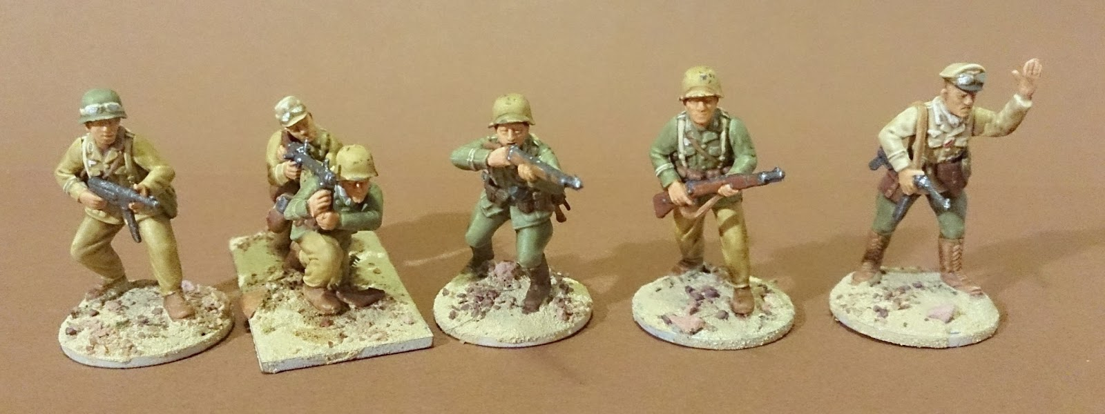 The figure fanatic perry miniatures d a k progress for Perry cr309 s manuale