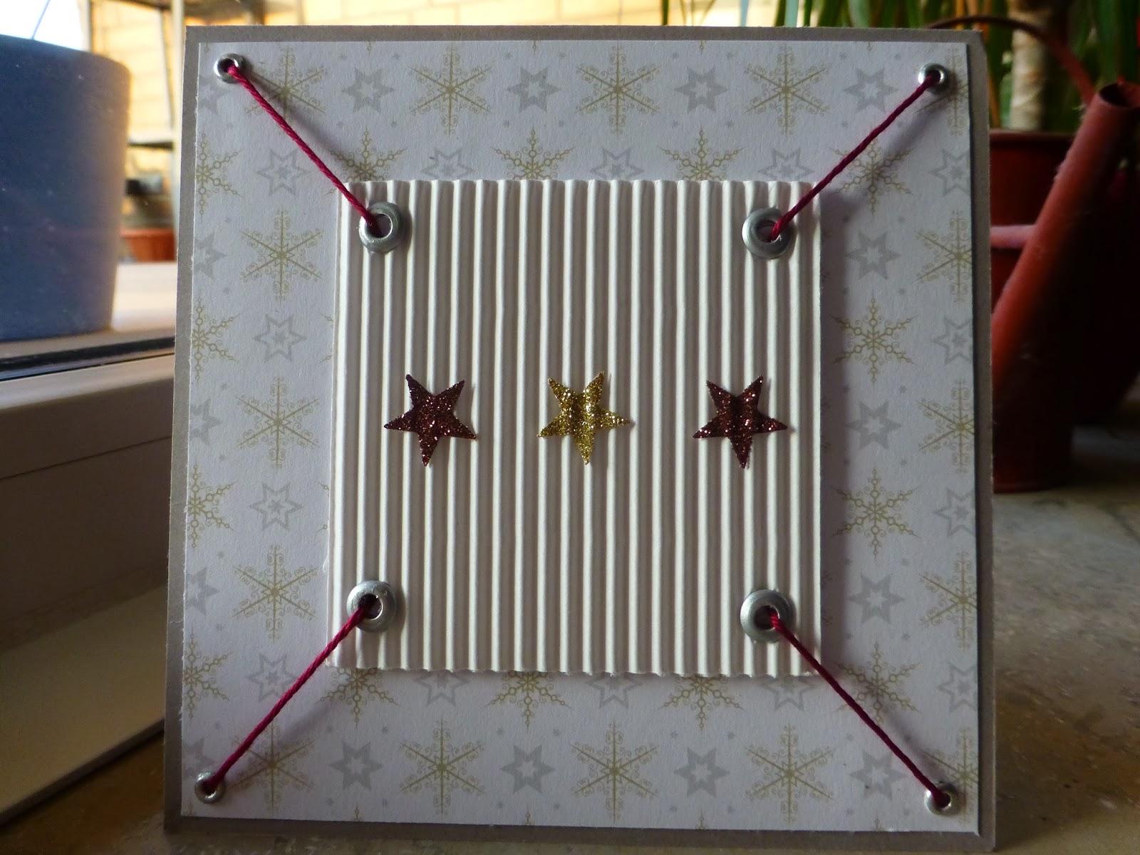 bastelteufelchen weihnachskarte auf die schnelle. Black Bedroom Furniture Sets. Home Design Ideas