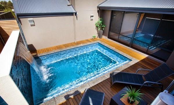 Ideas de peque as piscinas colores en casa for Ideas de piscinas economicas