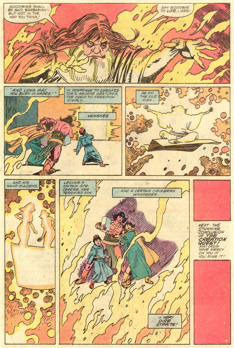 Conan the Barbarian (1970) Issue #129 #141 - English 22