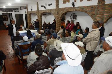 Gobernador Ramón Guevara da soluciones al sector agrario