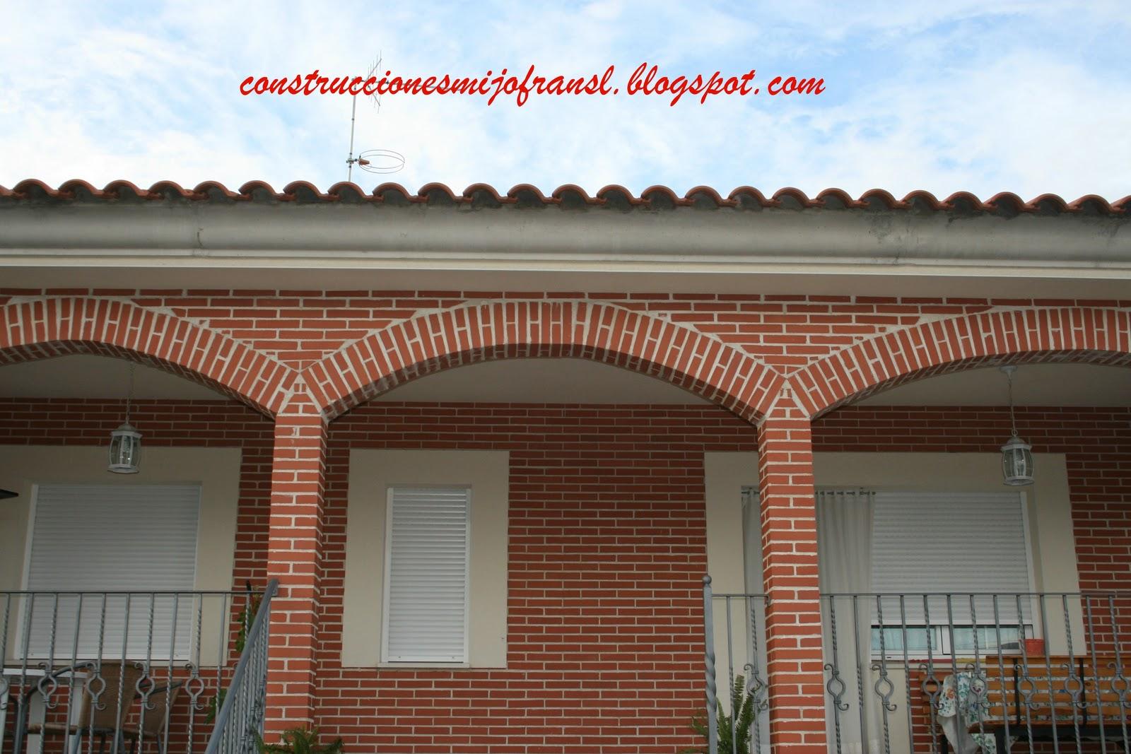 Arcos de ladrillo en cocinas la idea de - Arcos de ladrillo visto ...