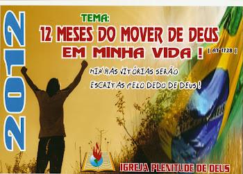 2012 - 12 MESES DO MOVER DE DEUS EM MINHA VIDA - Minhas vitórias serão escritas pelo dedo de Deus!