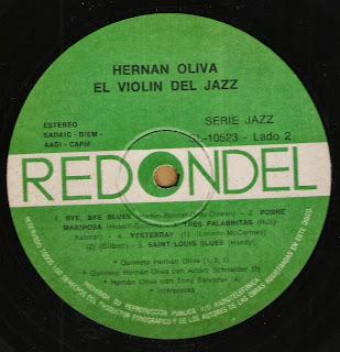 Hernan Oliva: El violin del jazz (1978)
