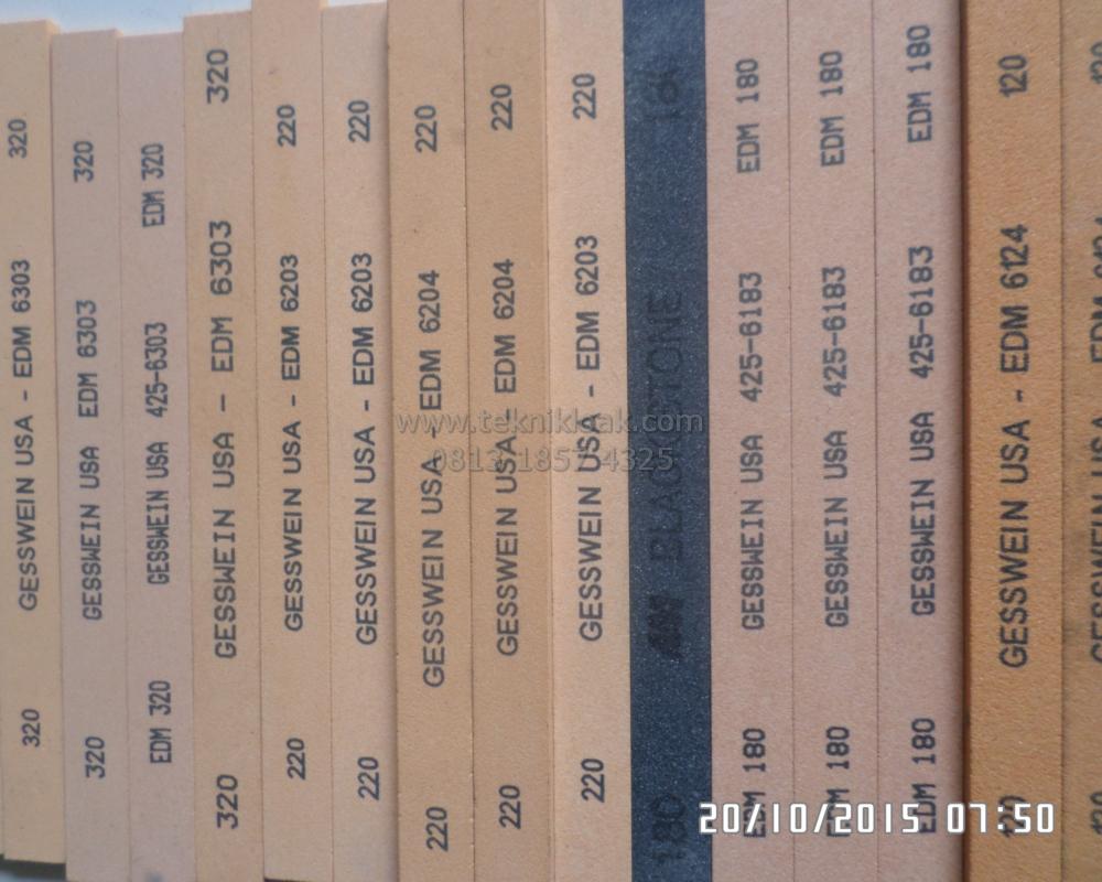 Batu Oilstone | Batu Asah | Gesswein USA EDM 6303 | SHARPENING STONE | Abrasive Stones