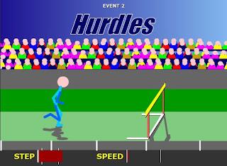 stickman olympics - hurdles