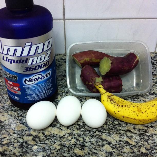 Dica de refeição pré-treino do personal trainer Felipe Franco