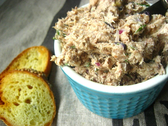 Stacey Snacks: Rosh Hashanah Snacks: Sardine Rillettes