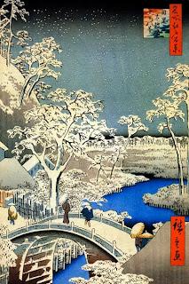 Принты Утагава Хиросигэ в высоком разрешении