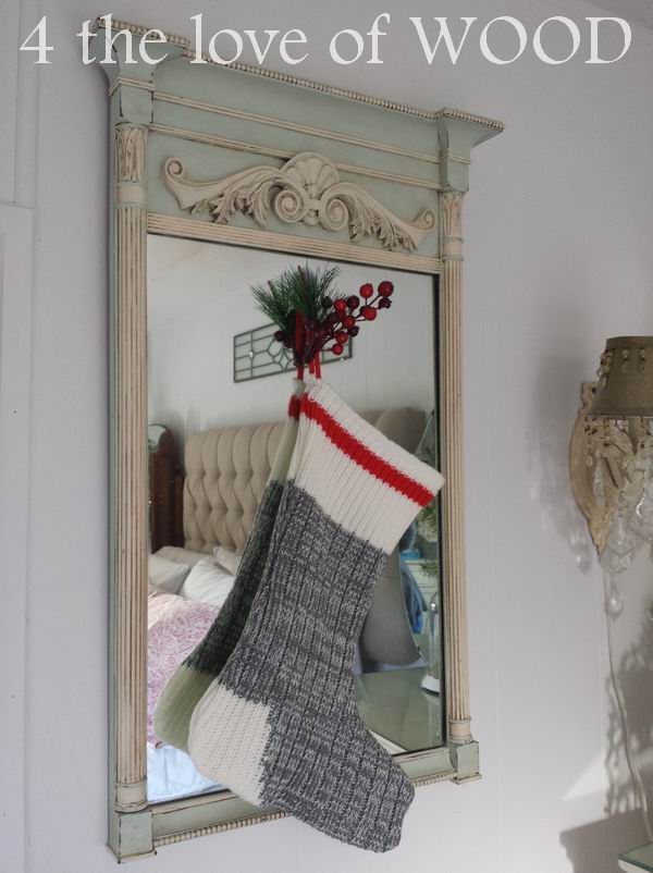 4 The Love Of Wood No Mantle For Stockings Alternative Ideas